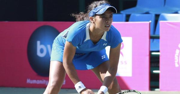 Indian tennis: Ankita Raina wins both singles and doubles title in Solapur