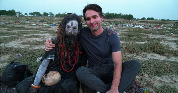 Todd Sampson on 'Body Hack 2.0', meeting sadhus and Aghoris, and facing the 'fear of the unknown'