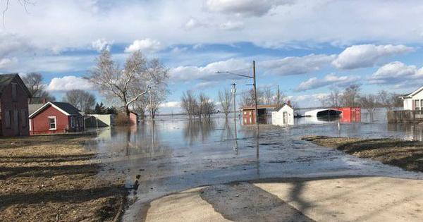 Watch: Scenes from the Nebraska floods, the worst in 50 years, after being hit by a 'bomb cyclone'