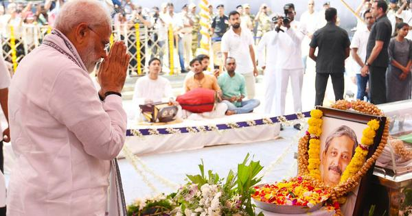 The big news: Manohar Parrikar accorded state funeral and 21-gun salute, and nine other top stories