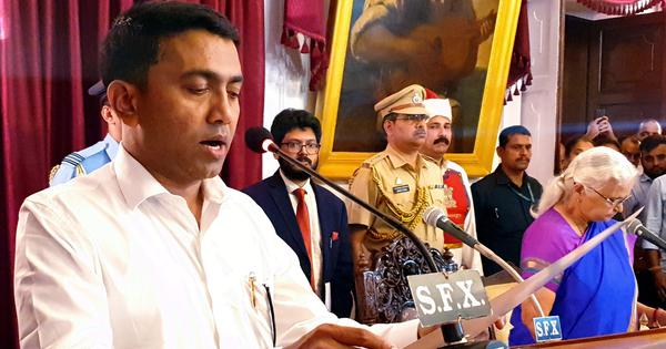 The big news: Pramod Sawant-led Goa government to face floor test today, and nine other top stories