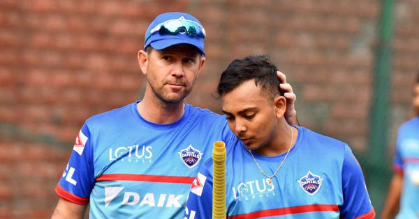 Ricky Ponting and Sourav Ganguly have helped with the mental side of the game: Prithvi Shaw