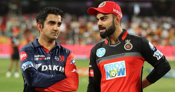 Would be at home if I think like people from outside: Kohli on Gambhir's 'lucky captain' remark - Scroll.in