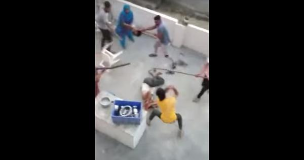 Haryana: Muslim family beaten up with sticks and rods in their home, video goes viral