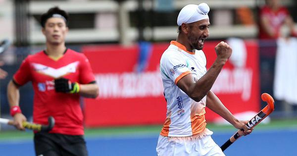 Azlan Shah Cup: India concede last-minute equaliser to share points against Korea in rain-hit match