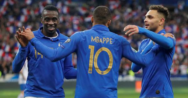 Euro 2020 qualifiers wrap: Mbappe leads France's rout of Ireland; Ronaldo injured in Serbia draw