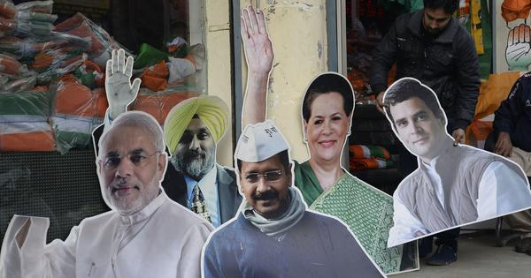 Is the BJP less dynastic than the Congress?  Not so, Lok Sabha data shows