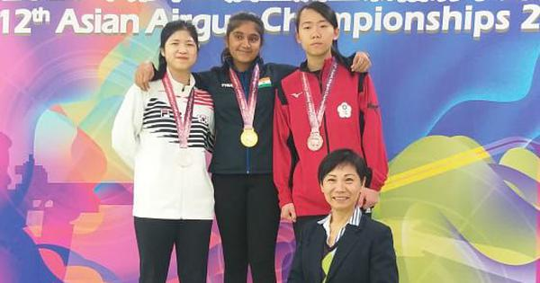 Asian Airgun Championships: Sarabjot Singh, Esha Singh win gold in junior air pistol