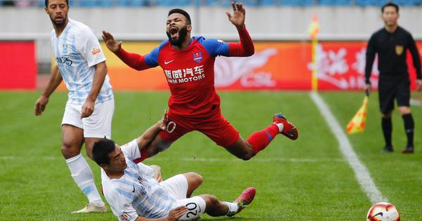 Rough play: Chinese FA hands out lengthy bans after 'record' Super League red-card count