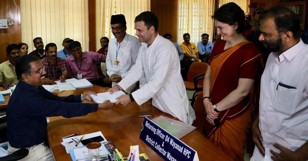 राहुल गांधी के चुनावी हलफनामे पर सवाल उठने सहित दिन के दस बड़े समाचार