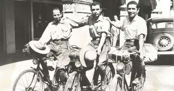 The incredible adventures of seven Parsi men who cycled across the world nearly a century ago