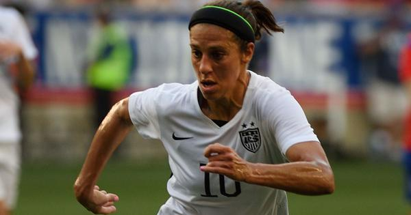 Carli Lloyd scores brace in USA's 6-0 rout of Belgium in friendly ahead of Fifa Women's World Cup