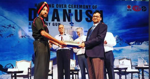 Indian Army gets first batch of indigenously built Dhanush artillery guns