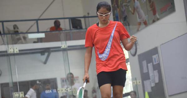 Squash: Aishwarya Khubchandani shocks eighth-seed Urwashi Joshi in round two of India Tour
