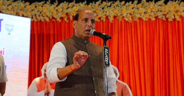 'Talks with Pakistan, if any, will be restricted to PoK,' says Rajnath Singh