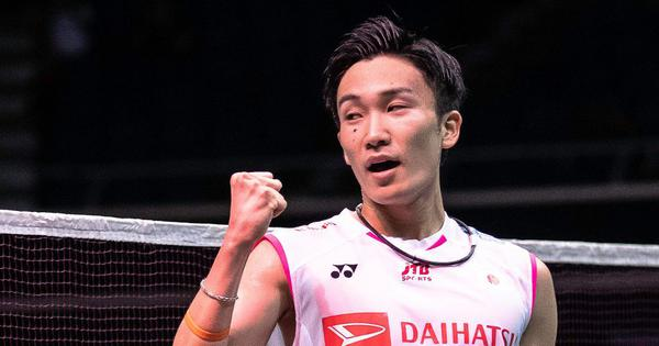 Badminton: Kento Momota battles past Anthony Ginting to win Singapore Open