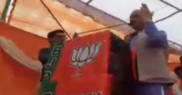 Watch: A BJP leader used abusive words for Rahul Gandhi while campaigning in Himachal Pradesh
