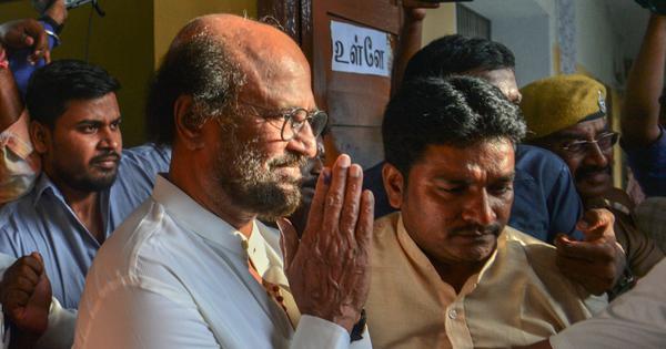 Rajinikanth refuses to apologise for his remarks on Periyar