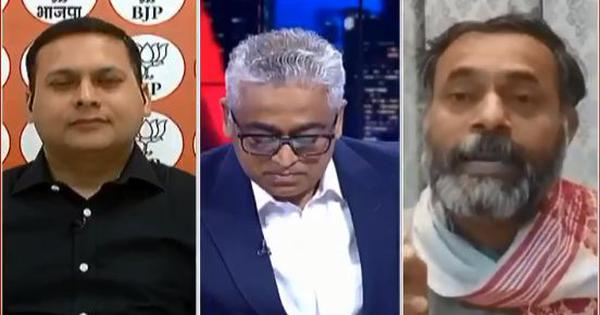 Watch: Yogendra Yadav tells touching family story on TV, questions BJP's Amit Malviya's sensitivity