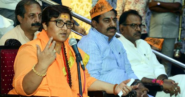 Pragya Thakur and Bhopal BJP chief get EC notice after she brags about Hemant Karkare's death