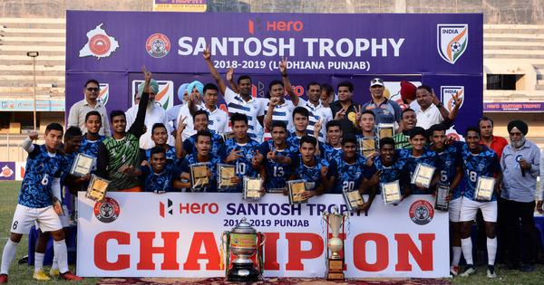 Indian Football: Services clinch Santosh Trophy for sixth time with 1-0 win over hosts Punjab