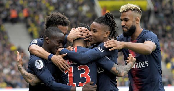 Football: Paris Saint-Germain win sixth Ligue 1 title in seven years