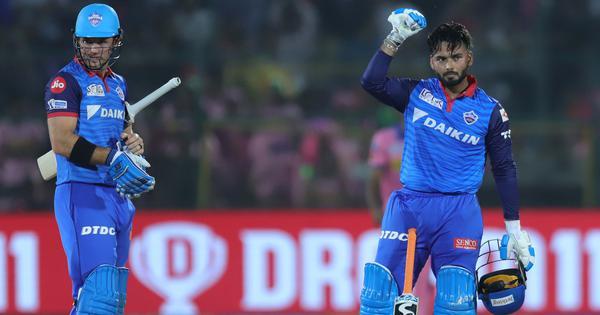 IPL 2019: Rishabh Pant's fireworks overshadow Ajinkya Rahane's ton as Delhi Capitals go top of table