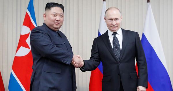 Russia: Vladimir Putin, Kim Jong-un vow to seek closer ties at first summit in Vladivostok