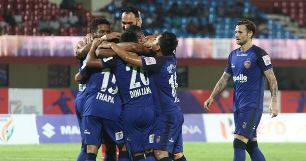 Football: Chennaiyin FC crush Real Kashmir FC 4-0 in pre-season friendly