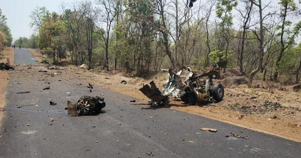 Gadchiroli: As Maoists kill 16, Maharashtra sees its worst attack on security personnel in a decade