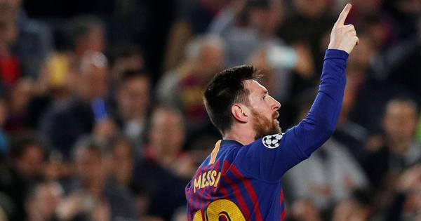 Lionel Messi to miss Barcelona's Champions League tie against Inter Milan