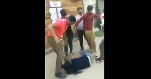 Watch: Woman thrashed by group of men in Greater Noida, Uttar Pradesh for demanding her salary