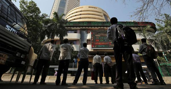 Sensex hits record-high of 45,000 as RBI keeps repo rate unchanged, revises GDP growth forecast