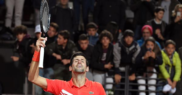 'The ultimate challenge': Novak Djokovic sets up Italian Open final against Rafael Nadal