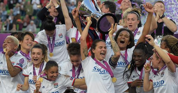 Ada Hegerberg's first-half hat-trick powers Lyon to fourth successive Women's Champions League crown