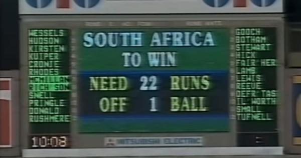World Cup moments: When a farcical rain rule drowned South Africa's final hopes and forced a change