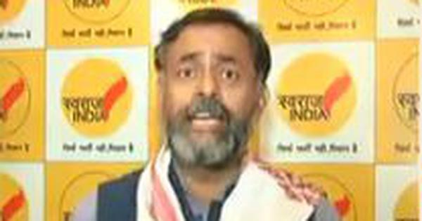 Watch: 'Congress should die', Swaraj India President Yogendra Yadav says after exit poll results
