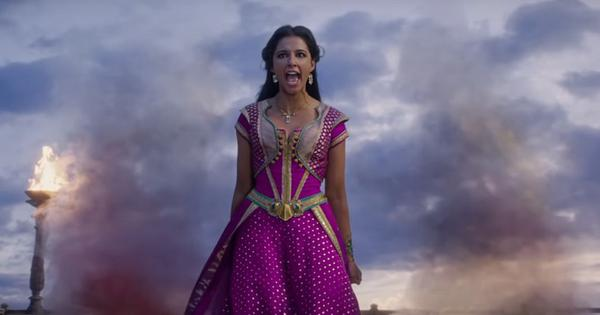 Watch: Naomi Scott as Jasmine performs 'Speechless' in Guy Ritchie's 'Aladdin'