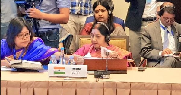 Pulwama attack, Sri Lanka blasts made India determined to fight terrorism, says Sushma Swaraj