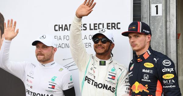 Formula 1: Hamilton edges Mercedes teammate Bottas for Monaco GP pole with record lap