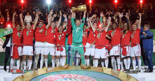 Lewandowski's brace sinks RB Leizig as Bayern Munich complete domestic double with German Cup win