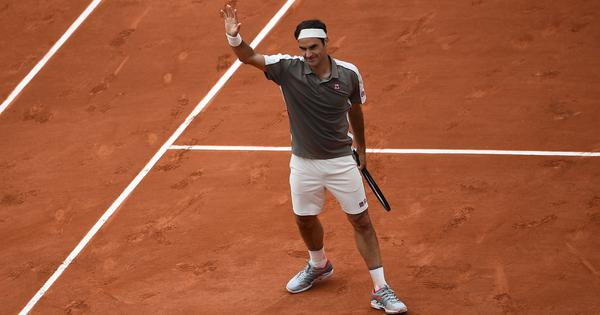 Nice to be an outsider: Roger Federer 'very, very happy' to reach French Open second round