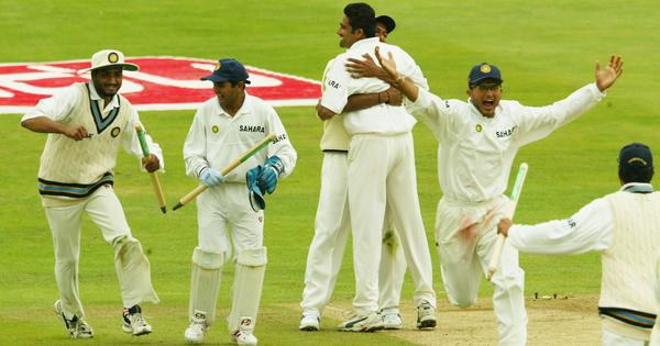 When the Indian cricket team showed England who was boss – on English soil in 2002