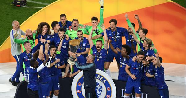 We deserved to win: Maurizio Sarri happy with Chelsea's recovery to win Europa League
