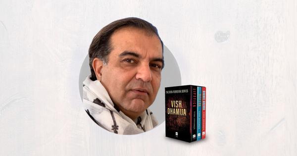 Web series to be made on Vish Dhamija's Rita Ferreira crime novels