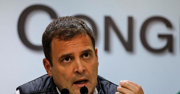 Need to make environment a 'political issue', says Congress chief Rahul Gandhi