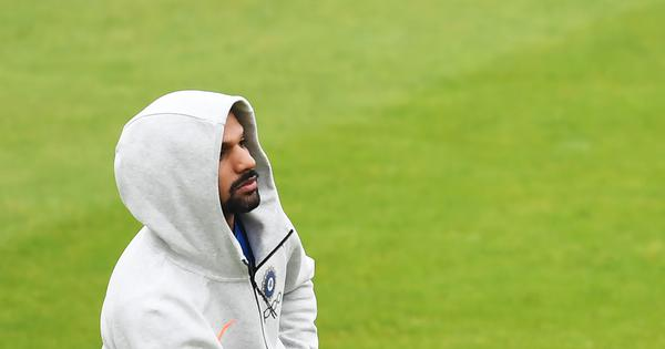 Watch: India opener Shikhar Dhawan sends a message to fans after injury rules him out of World Cup