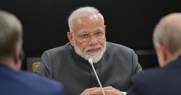 BJP is growing because of its ideology and not the legacy of any family, Narendra Modi tells MPs