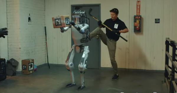 Watch: This 'robot' is no underdog – he fights back, even against his bullying creators