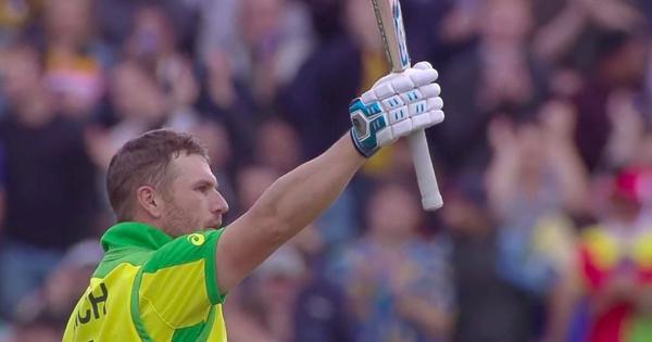 क्रिकेट विश्व कप : आरोन फिंच के शतक की दम पर ऑस्ट्रेलिया ने श्रीलंका को 335 रनों का लक्ष्य दिया
